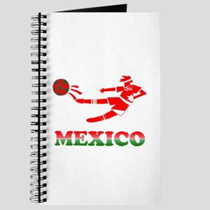Mexican Soccer Player Journal