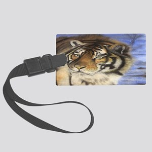 Daddys Tiger Large Luggage Tag