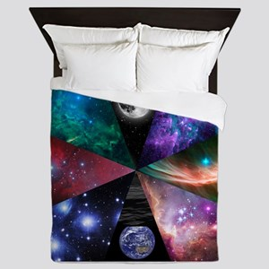 Astronomy Collage Queen Duvet