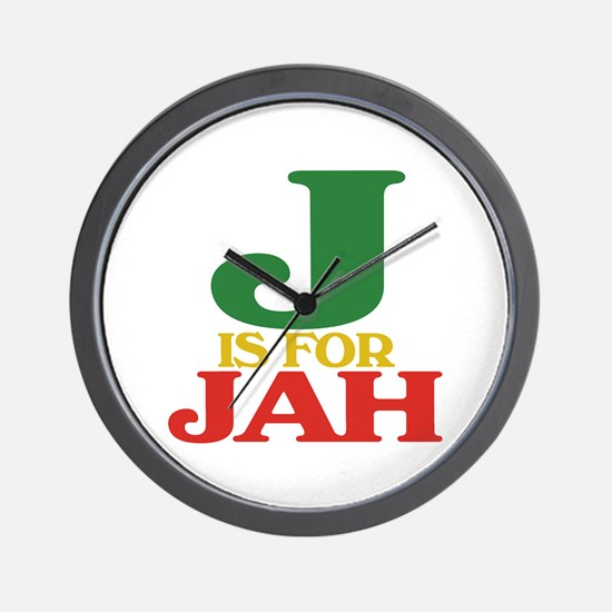 J is for Jah Wall Clock