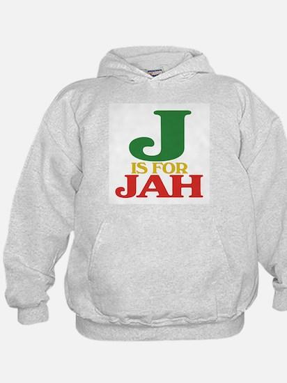 J is for Jah Hoodie