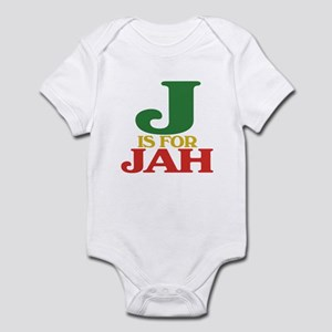 J is for Jah Infant Bodysuit