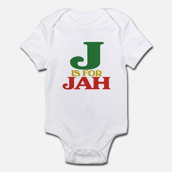 J is for Jah Infant Bodysuit