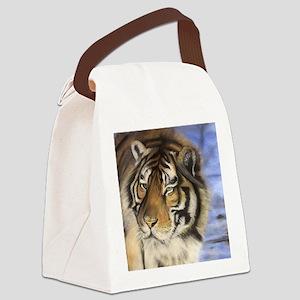 Daddys Tiger Canvas Lunch Bag