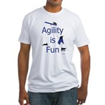 Agility is Fun JAMD Fitted T-Shirt
