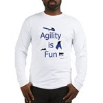 Agility is Fun JAMD Long Sleeve T-Shirt