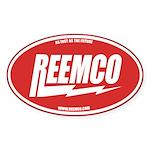 Reemco Oval Sticker