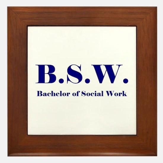 BSW (Design 2) Framed Tile