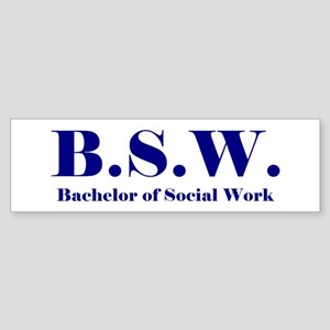 BSW (Design 2) Bumper Sticker