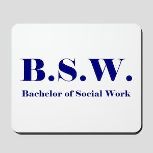 BSW (Design 2) Mousepad