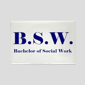 BSW (Design 2) Rectangle Magnet
