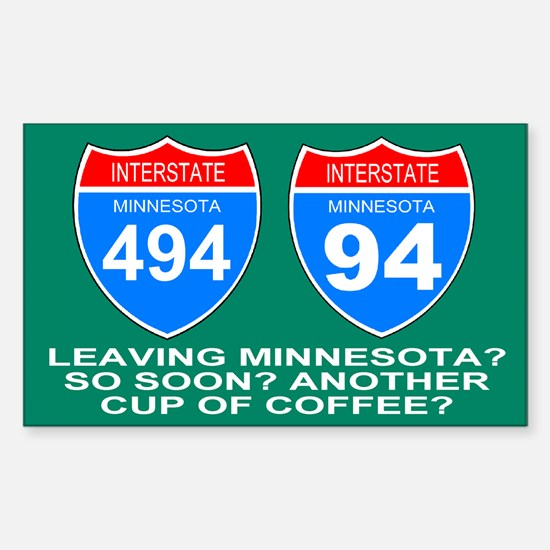 Iinterstate 494 Alternative<BR>Decal