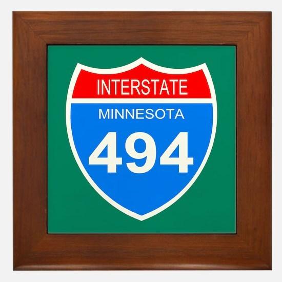Interstate 494<BR>  Framed Tile