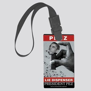 President Pez Lie Dispenser Large Luggage Tag