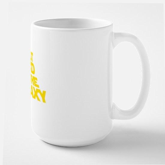 BEST DAD IN THE GALAXY Large Mug
