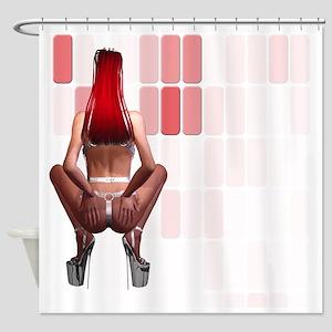lp_Woven Blanket_1175_H_F Shower Curtain