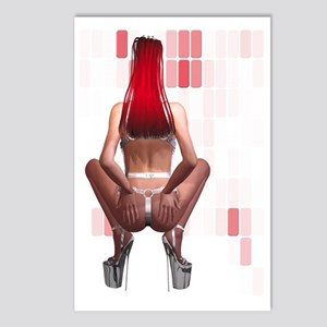 Latex Ponygirl Postcards (Package of 8)
