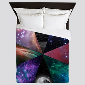 Astronomy Collage Queen Duvet