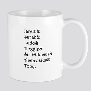 Labyrinth Names Mugs