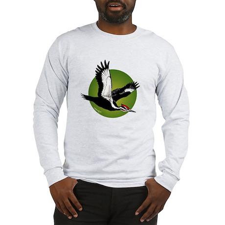 Pileated Woodpecker Long Sleeve T-Shirt
