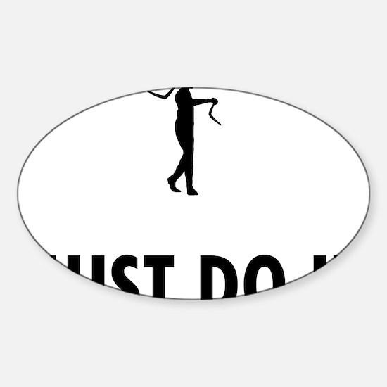 Boomerang-08-A Sticker (Oval)