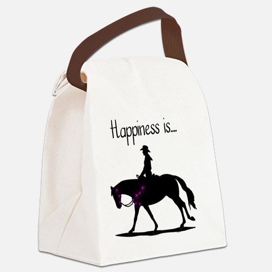 Happiness is... Canvas Lunch Bag