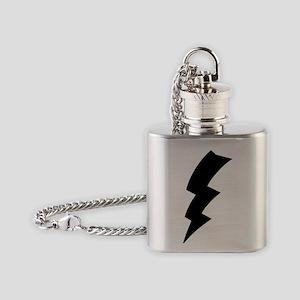 CB Lightning Bolt T-Shirt Flask Necklace