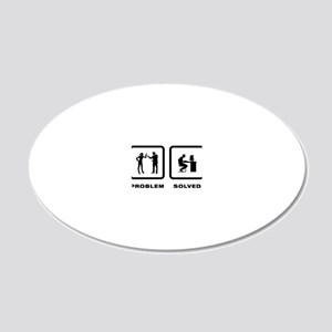 Computer-Geek-10-A 20x12 Oval Wall Decal