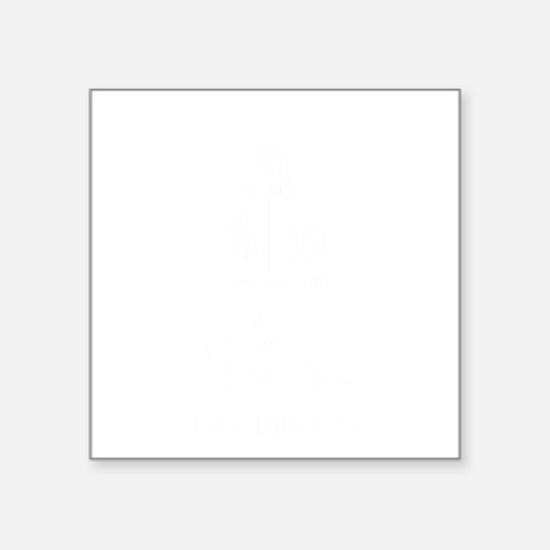 "Cowboy-11-B Square Sticker 3"" x 3"""