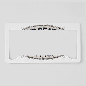 rock-seattle-CAP License Plate Holder