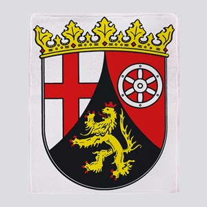 Rheinland-Pfalz Throw Blanket