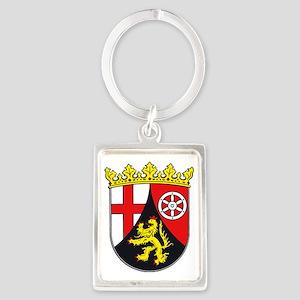 Rheinland-Pfalz Portrait Keychain