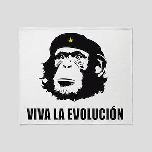 Viva La Evolucion Design Throw Blanket
