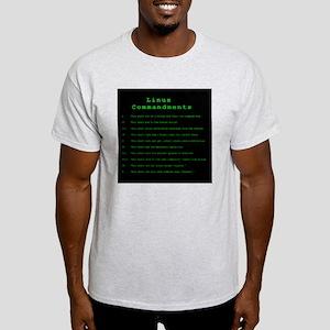 Linux Commandments Light T-Shirt
