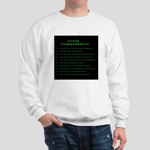 Linux Commandments Sweatshirt