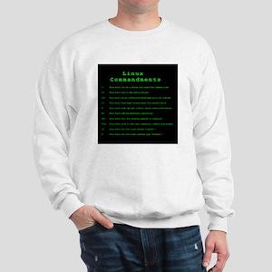 Linux Commandments Sweatshirt