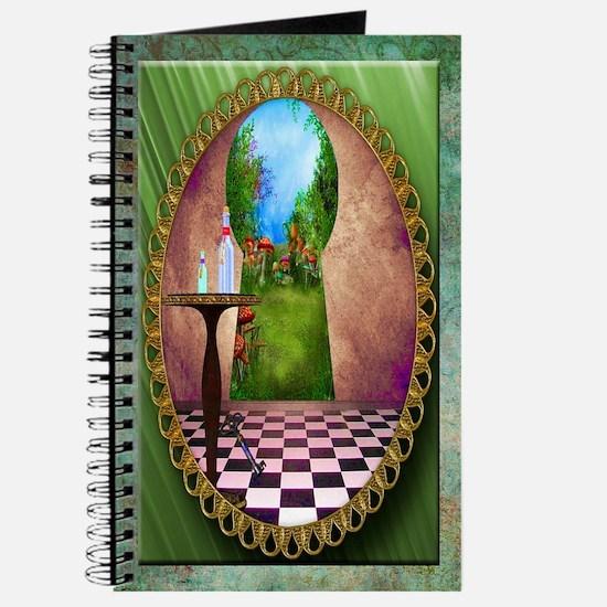 Through The Key Hole Journal