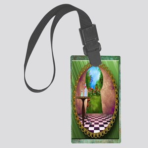 Through The Key Hole Large Luggage Tag