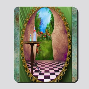 Through The Key Hole Mousepad