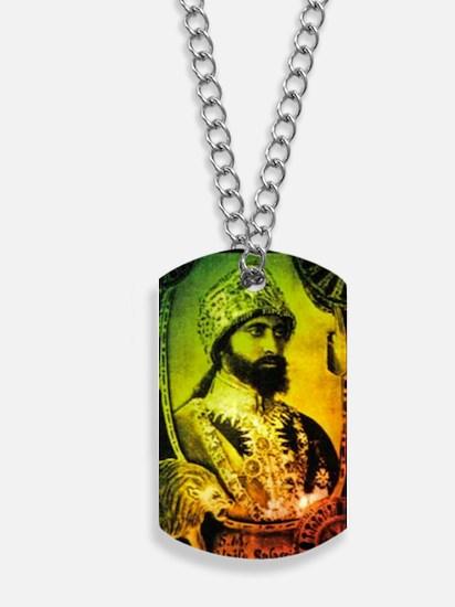 Haile Selassie Dog Tags