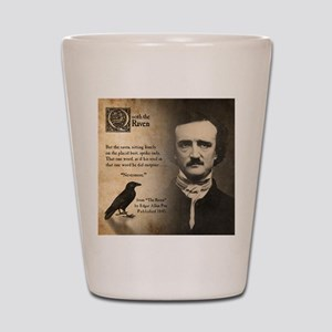 Edgar Allan Poe Shot Glass