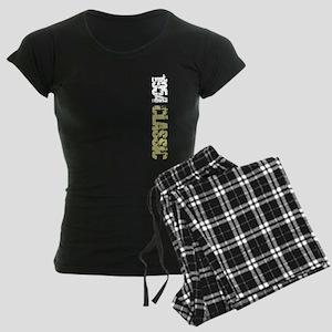 Sideways 1954 Women's Dark Pajamas