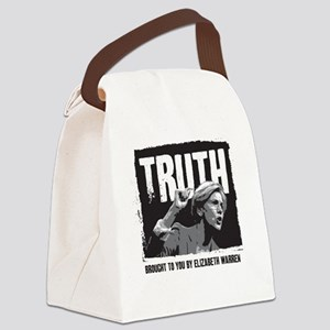 Truth by Elizabeth Warren Canvas Lunch Bag