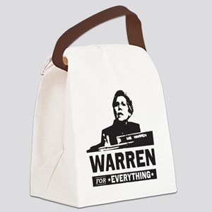 Elizabeth Warren for Everything Canvas Lunch Bag
