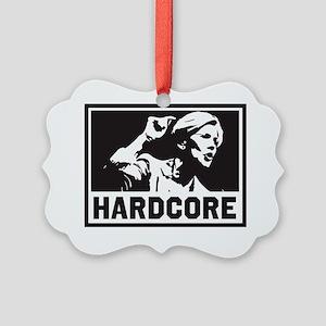 Elizabeth Warren Hardcore Picture Ornament