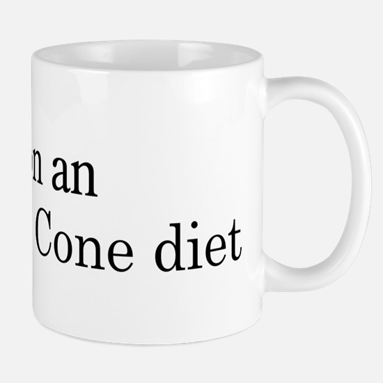 Ice Cream Cone diet Mug