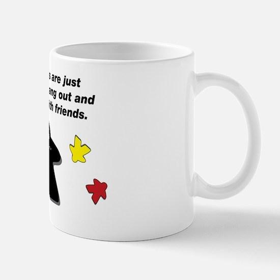 Meeple Text Mug