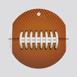 Football Round Ornament