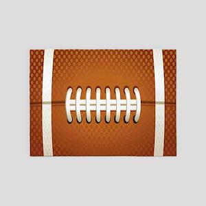 Football 5'x7'Area Rug