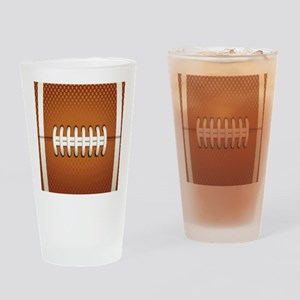 Football Drinking Glass
